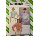 Sewing pattern Butterick 3767 Sizes 8-10-12. Sleeveless and long sleeve blouse