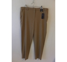 M&S Collection Long smart camel trousers Camel Size: 38""