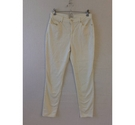 Monsoon Cream Skinny Jeans Cream Size: 28""