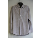 Racing Green Long-sleeved shirt white striped Size: L