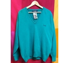 Pringle V-Neck Jumper Green Size: M