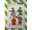 Style 1403 Womens 1980s Blouse sewing pattern. Size 12