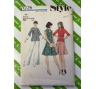 Style 1225 Womens Trouser, skirt, blouse sewing pattern. Size 12