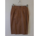 Dorothy Perkins Fitted high wasted skirt Dark tan Size: 6