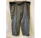 M&S Marks & Spencer Zip off Walking trousers Black Size: L