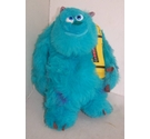 "Monsters Inc 14"" Sully With Scream Can lights up Talking plush"