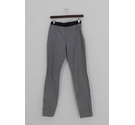 Boden Slim Fit Checked Trousers Black and White Size: 28""