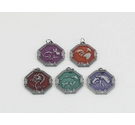 5 x 'Jackie Chan Adventures' Amulet/Talisman: Rooster, Dragon, Sheep, Horse and Rabbit