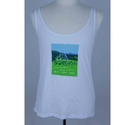 Oxfam Love the Farm Vest White Size: M