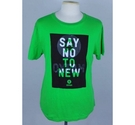 Oxfam Branded T-shirt Green Size: L