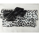 11.99 leopard print small clutch bag multicoloured Size: S