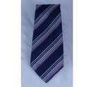 Paul Smith Striped Tie Blue Size: Not specified