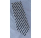Giogio Armani Tie Cream/Grey Size: Not specified