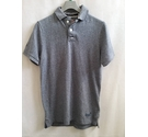 SuperDry Polo shirt - VG condition Grey/Blue Marl Size: M