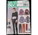 New Look Sewing Pattern Mommy and Me Uncut Age 3-8. Adult 8-16