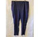 Boden Linen Mix Trousers Navy Size: 22