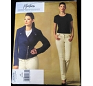 Vogue Sewing Pattern Montana Uncut Jacket and Trousers, Size 4-6-8
