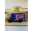 Blue reproduction Vintage Walkers Crisps Van