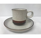 Denby Potters Wheel, Cup and Saucer