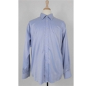 Marks and Spencer Collezione Mens Shirt Light Blue Size: L