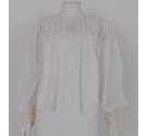 ASOS Pleated Tulle Tunic Top Ivory Size: 10