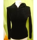 Nicole Farhi Lightweight stretch sweatshirt Black Size: 12