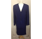 Windsmoor blazer and skirt blue and black Size: 16