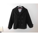 Boys Wool Jacket Black Size: 8 - 9 Years
