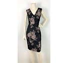 Phase Eight Patterned Dress Black Size: 12