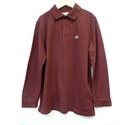 Lacoste Sport Long sleeve polo shirt Burgundy Size: 14 - 15 Years