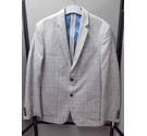 M&S Collection lightweight jacket Grey check Size: M
