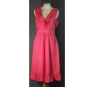 Monsoon- dress Red- Size: 10