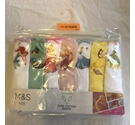 M&S Disney Princess Briefs (7pack) Multi-Coloured Size: 11 - 12 Years