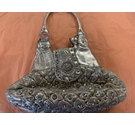 Unbranded Handbag Silver Size: One size