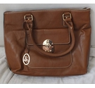 Jane Shilton Leather Look Handbag Brown Size: One size