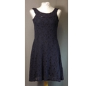 BNWT - Superdry- sleeveless lace dress - Navy Blue- Size: 12
