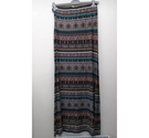 Monsoon Patterned Maxi Skirt Multicoloured Size: M