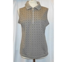 Daily sports Sleeveless sports top Brown Size: M