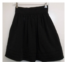 Whistles gathered skirt with petticoat black Size: 8
