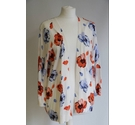 Laura Ashley floral cardigan white Size: 18