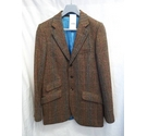 Charles Tyrwhitt Classic Fit Tweet Jacket 38R brown Size: M