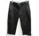 Cross Sweden Cropped Trousres Black Size: 12