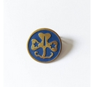 Vintage Girl Guide pin badge