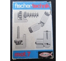 Vintage Fischer Technik Mot.7 accessory pack