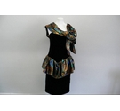 JOHN Pill Colllection vintage dress multi-Coloured Size: M