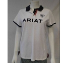 Ariat polo shirt with logo white Size: L