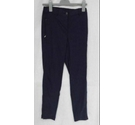 Masai elasticated viscose trousers navy blue Size: 28""