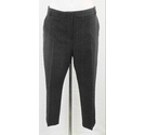 Atmosphere cropped trousers black Size: M