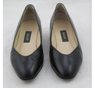 Bally Punta Leather Court Shoes Black Size: 5.5