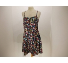 French Connection Summer Dress Multi-Coloured Size: 14